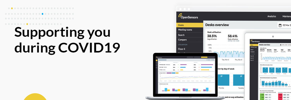 OpenSensors - Supporting you during COVID19