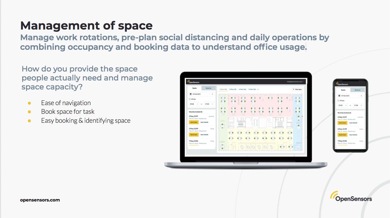 OpenSensors - booking data