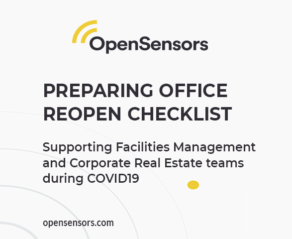 OpenSensors - Preparing office reopen checklist2
