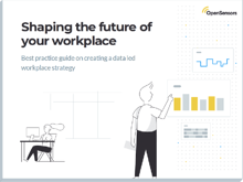 OpenSensors - Shaping the future of your workplace ebook cover