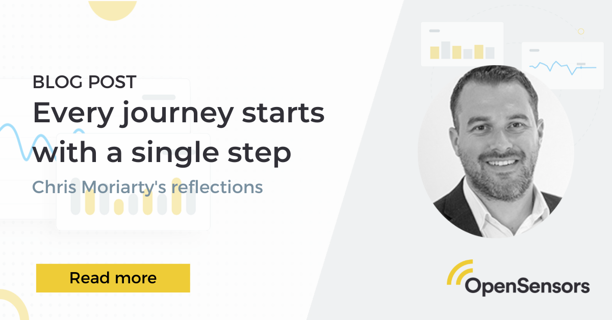 OpenSensors - Chris Moriarty - Workplace reflections