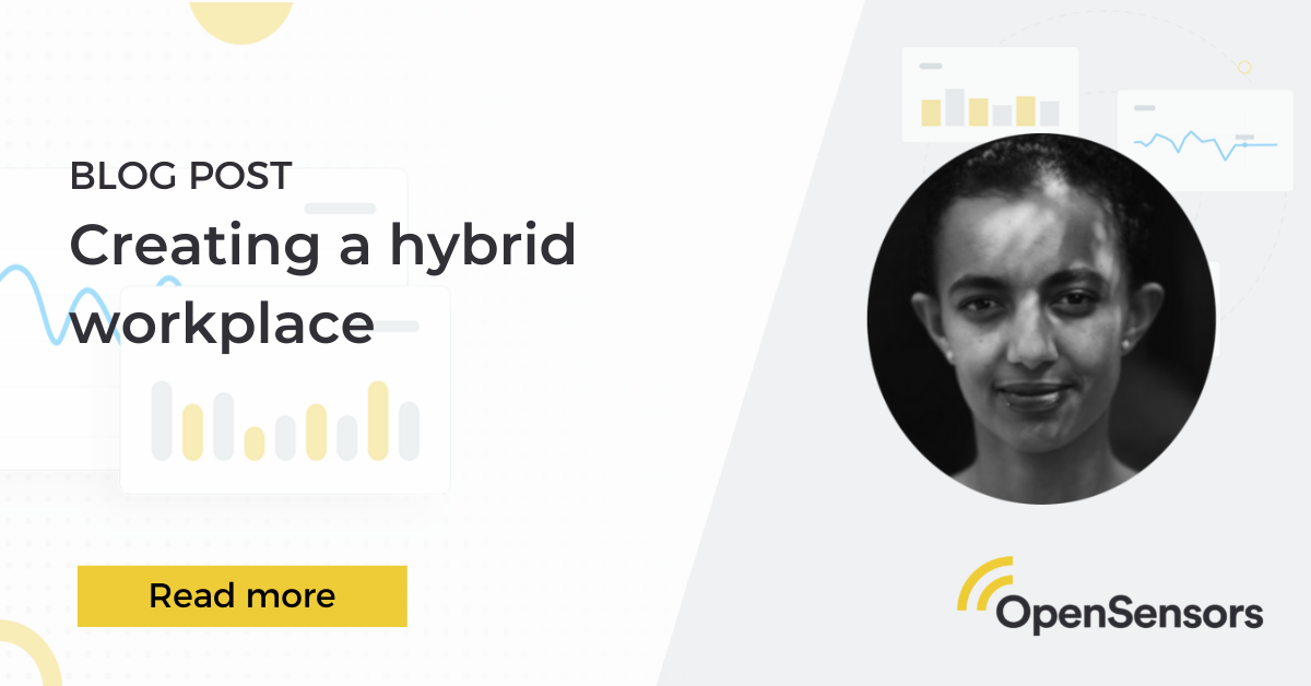 OpenSensors - Creating a hybrid workplace