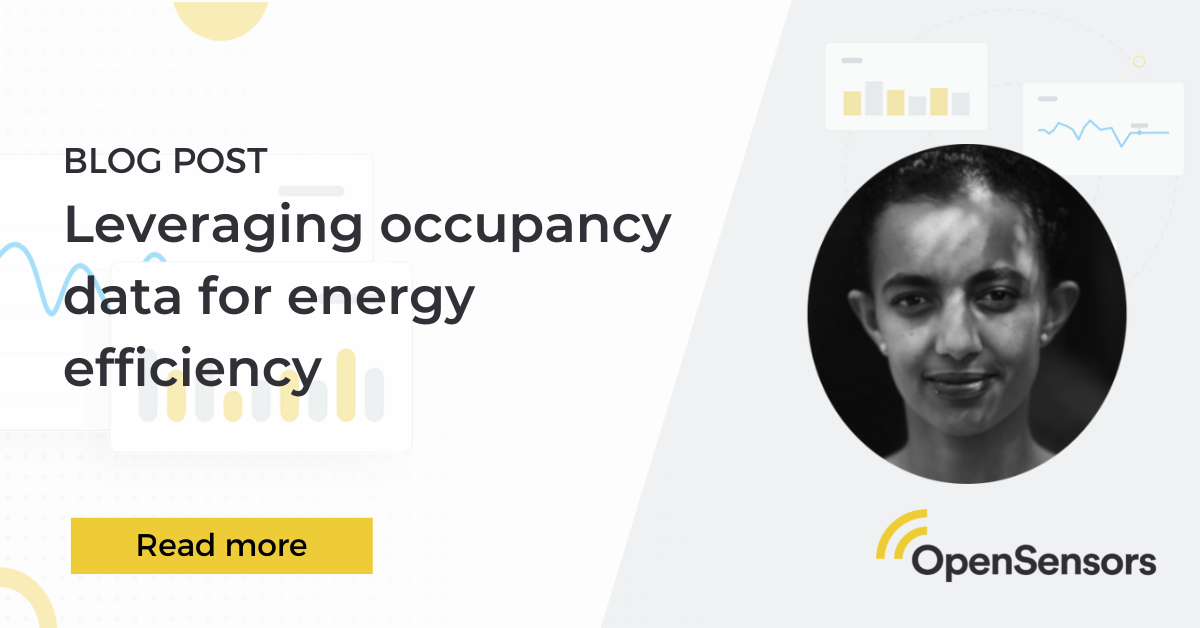 OpenSensors - The role of occupancy data in an energy efficient workspace