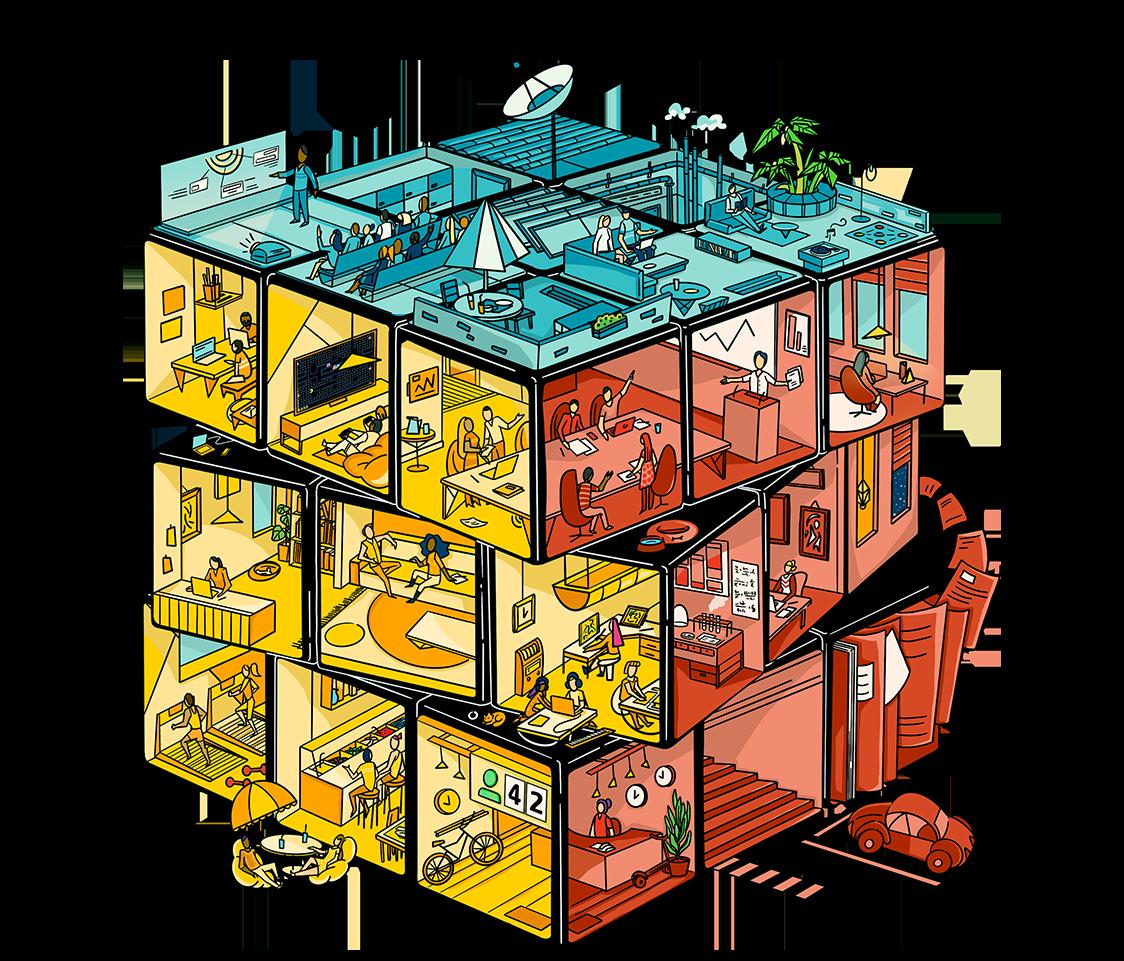 OpenSensors - Workplace transformation - hero-cube